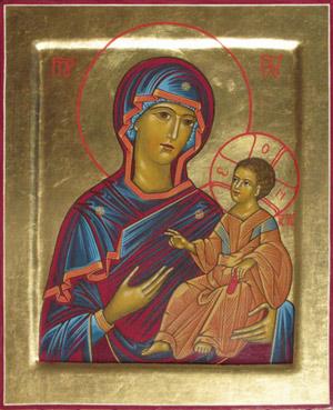 icône Marie, Mère de Dieu (calendrier oecuménique)