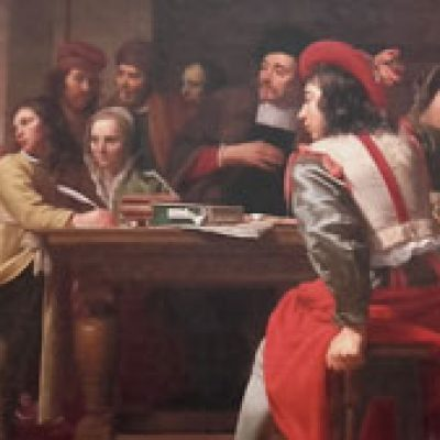 Jésus-et-le-publicain,-Jacob-van-Oost-le-Vieux-(XVIIè)-1